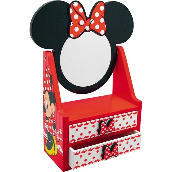 Minnie Mouse thema kastje met spiegel