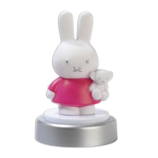 Nachtlampje Nijntje in een roze jurk