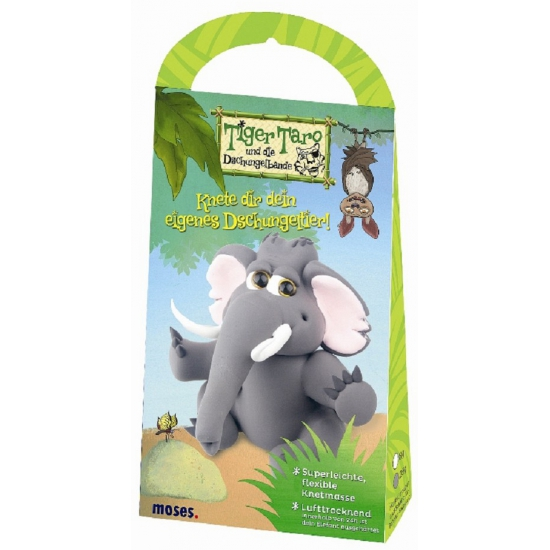 Olifant klei set voor kinderen