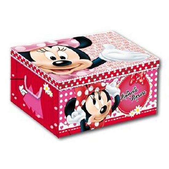 Opbergdoos met plaatjes van Minnie Mouse 51 cm
