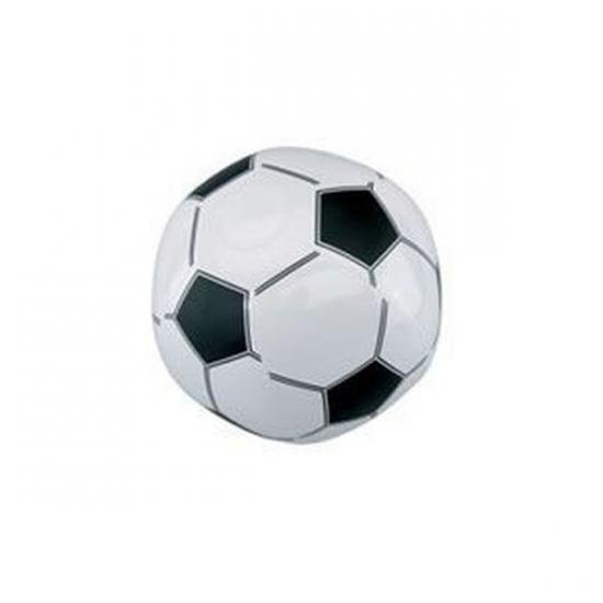 Opblaas voetbal van plastic