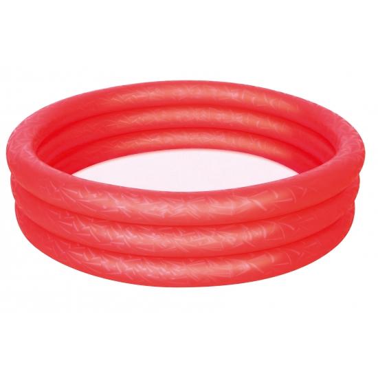 Opblaasbaar mini zwembad rood