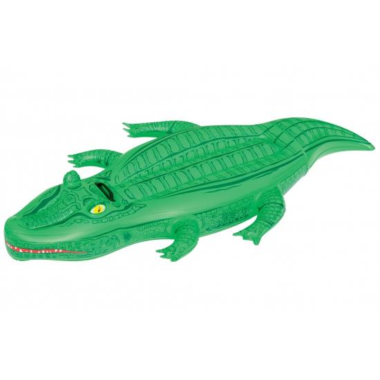 Opblaasbare krokodil 167 x 89 cm cm