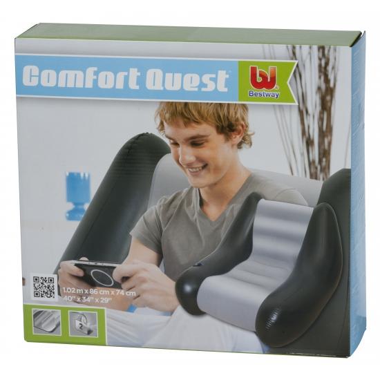 Opblaasbare lounge stoel 102 cm