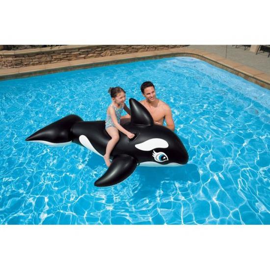 Opblaasbare orka 180 cm