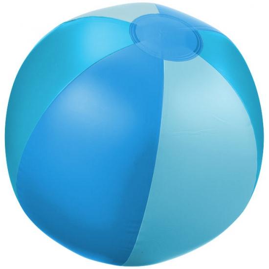 Opblaasbare strandbal blauw