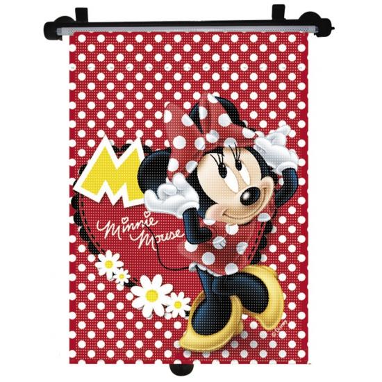 Oprolbare Minnie Mouse zonnescherm