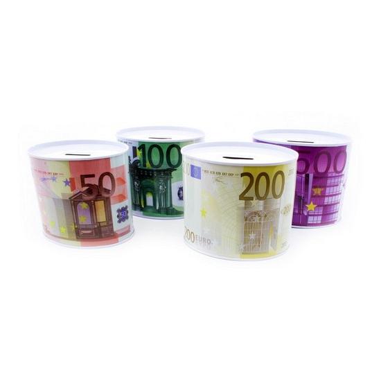Ovalen spaarpot 100 euro
