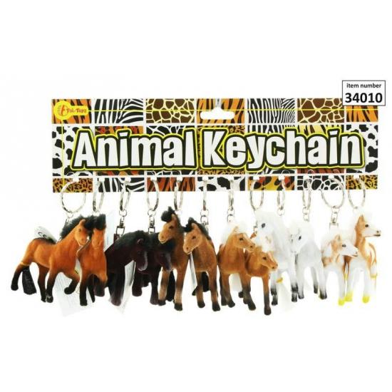 Paarden sleutelhanger