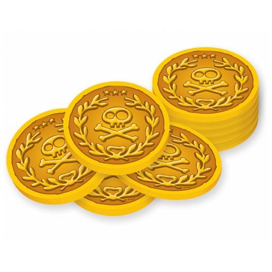 Piraten schat gouden munten