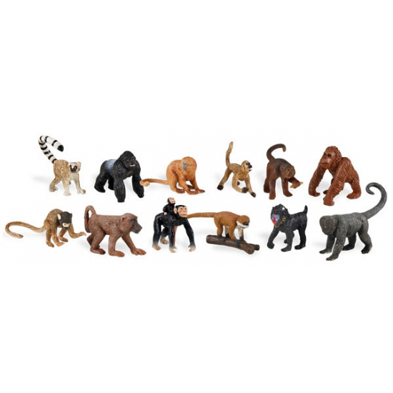 Plastic apen 12 stuks
