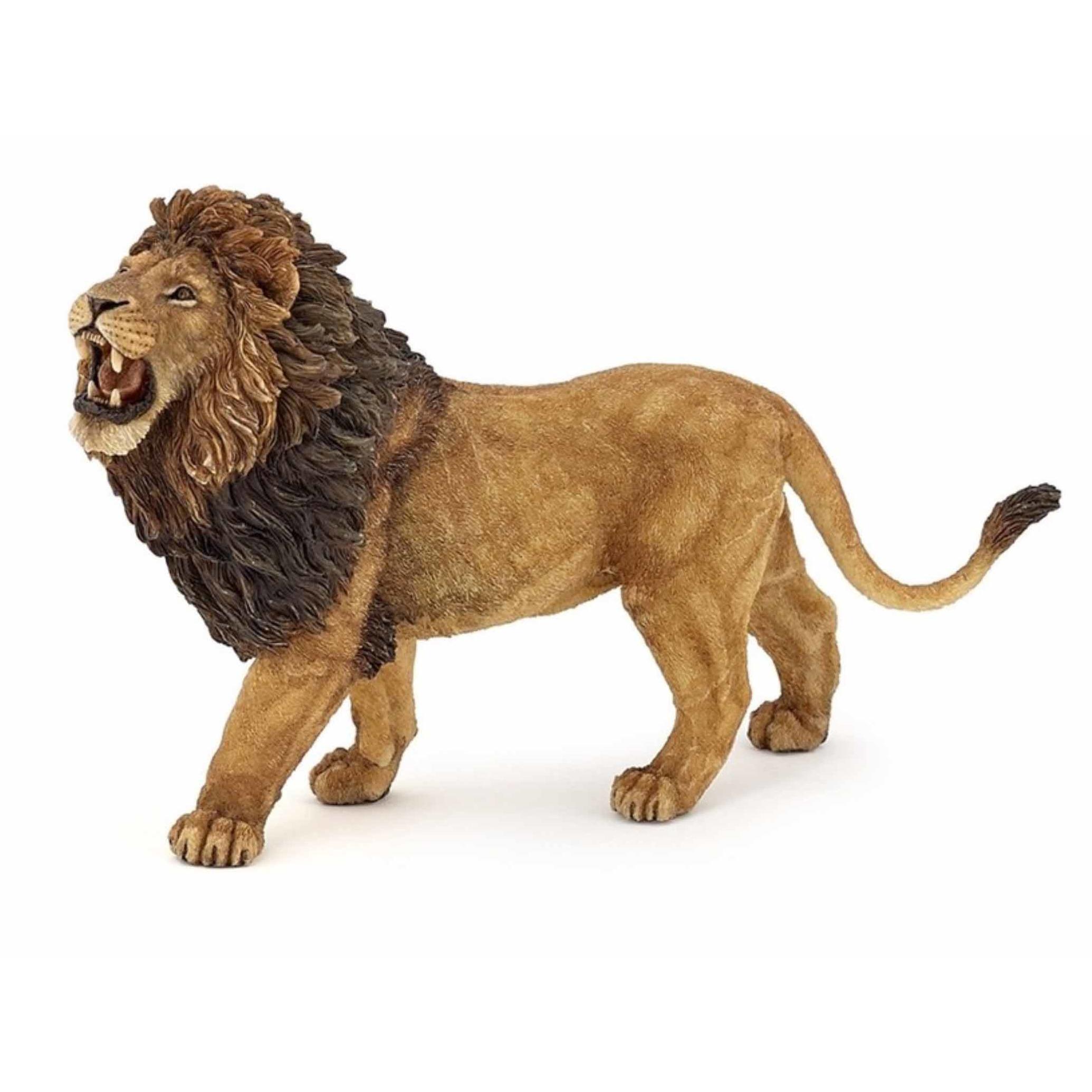 Plastic brullende leeuw 15 cm