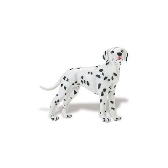 Plastic Dalmatier hond speelfiguur 9 cm