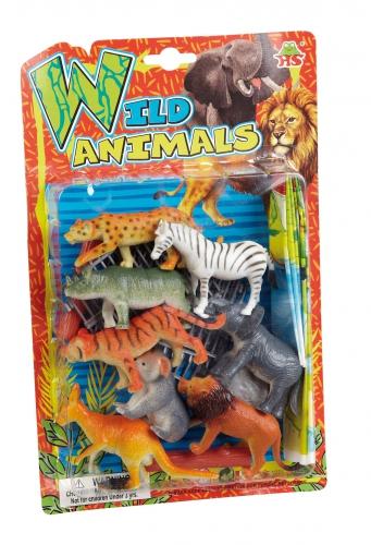 Plastic dierentuin dieren speelgoed