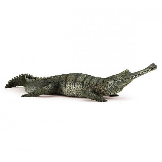 Plastic Gaviaal krokodil 21 cm
