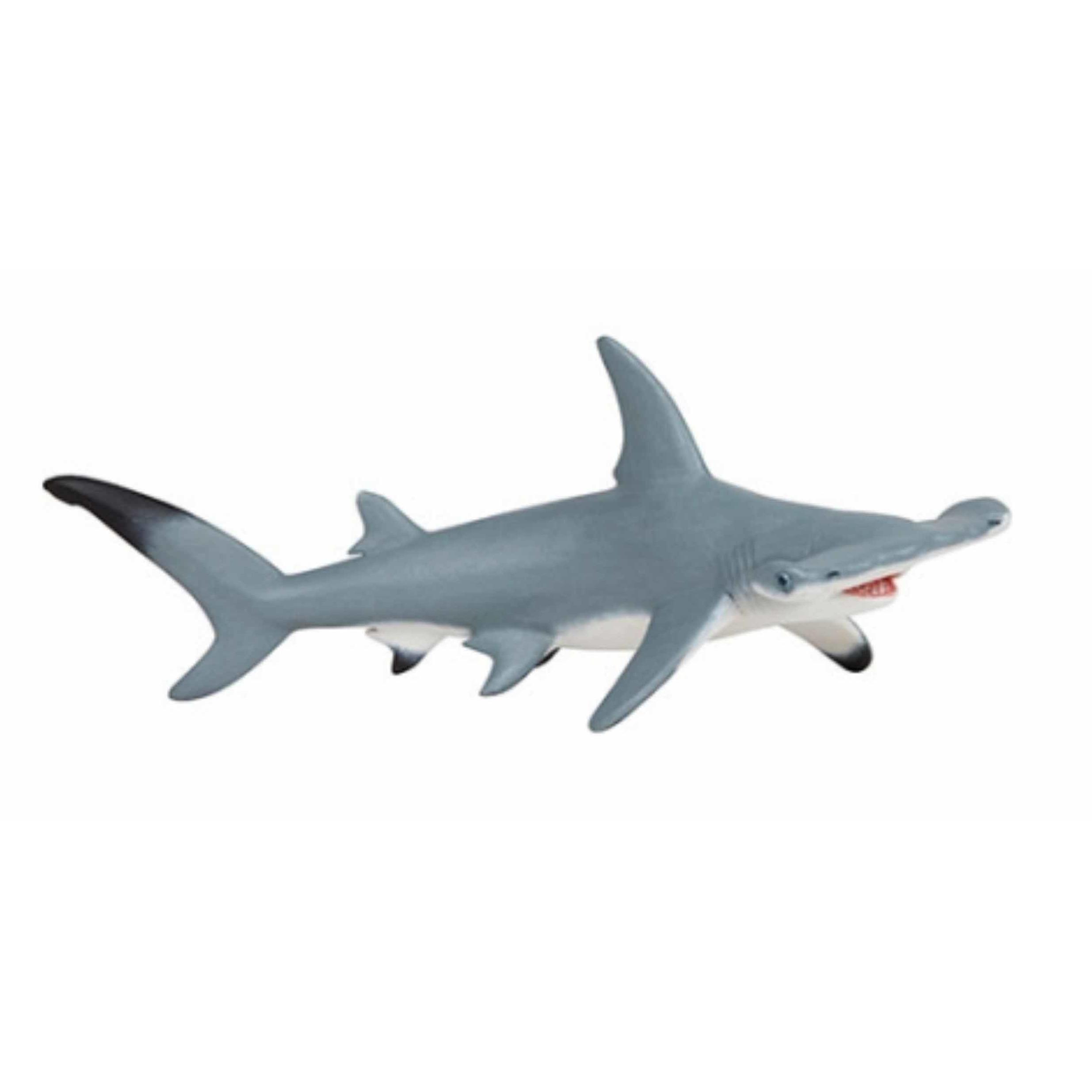 Plastic hamer haai 17 cm