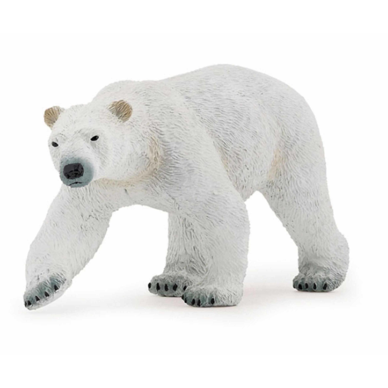 Plastic ijsbeer 14 cm