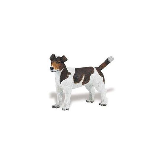 Plastic Jack Russell Terrier hondje 6 cm