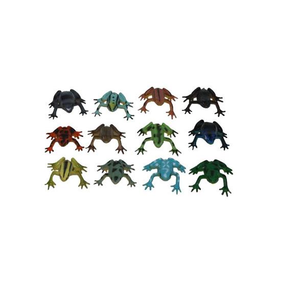 Plastic kikker 5 cm
