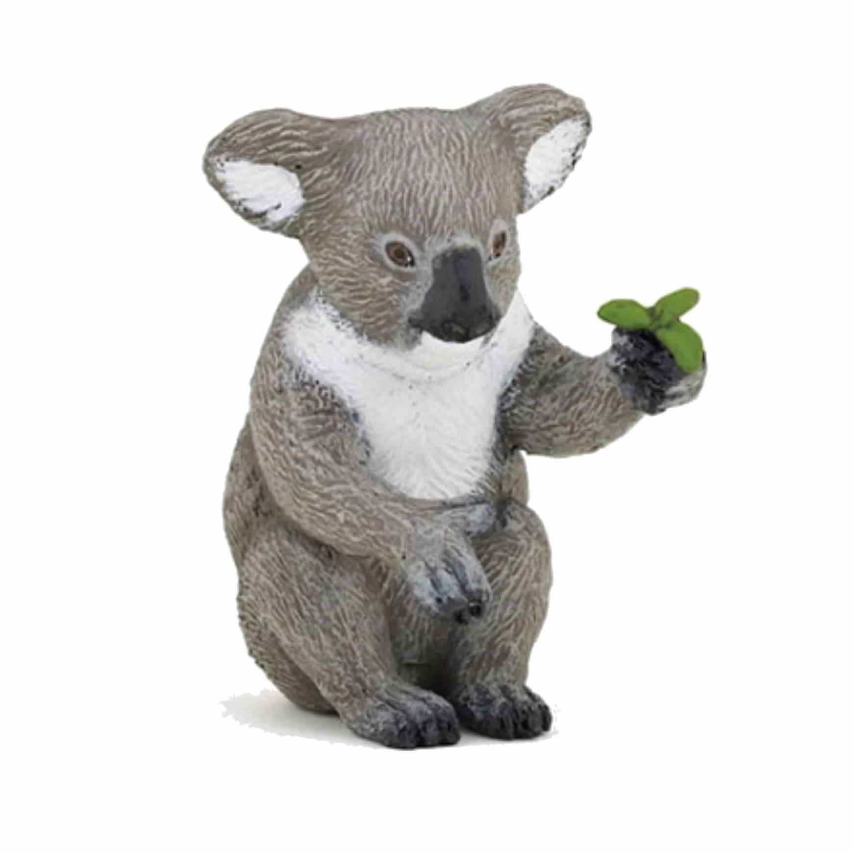Plastic koala 6 cm