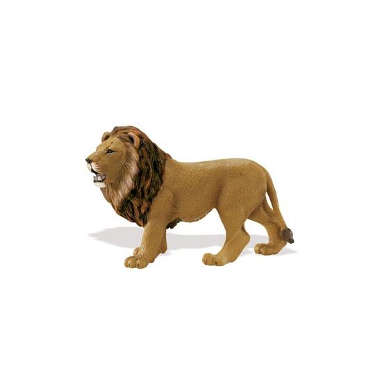 Plastic leeuw speelgoed dier 14 cm