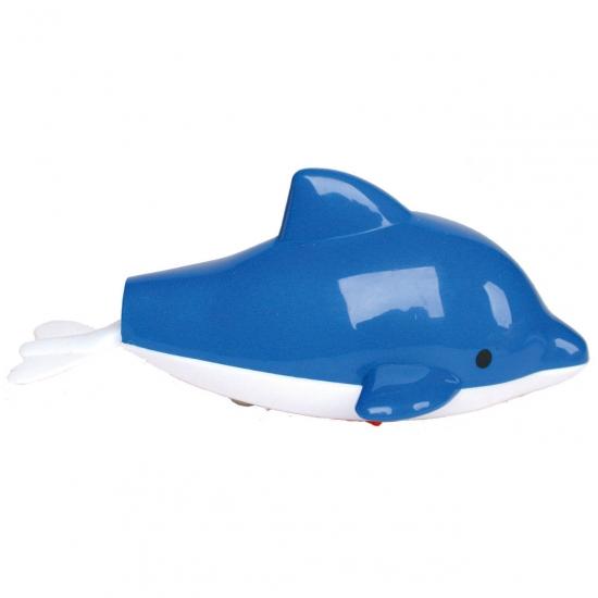 Plastic opwindbaar dolfijntje