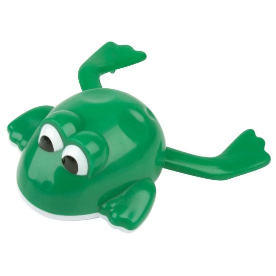 Plastic opwindbaar kikkertje