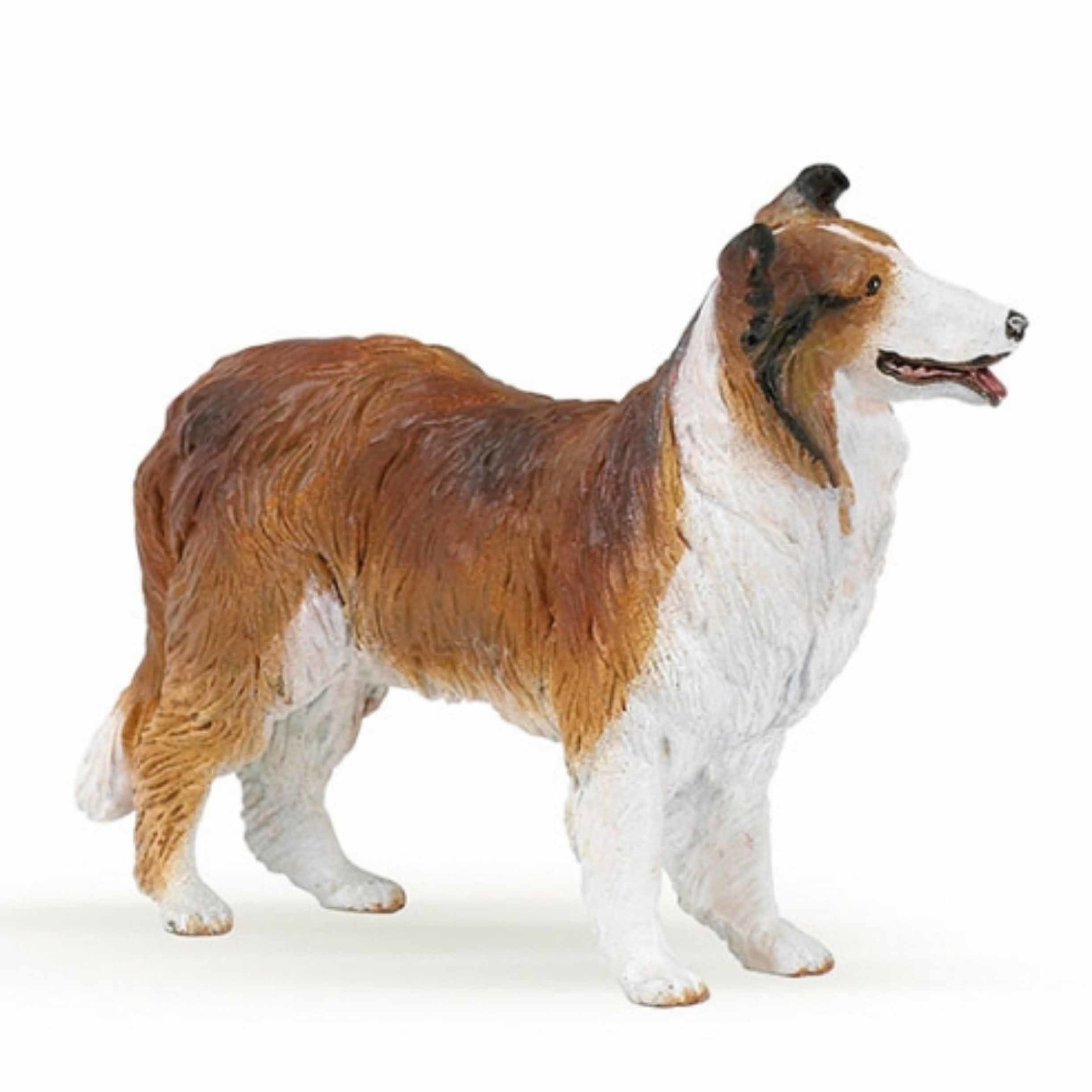 Plastic Papo dier Border Collie