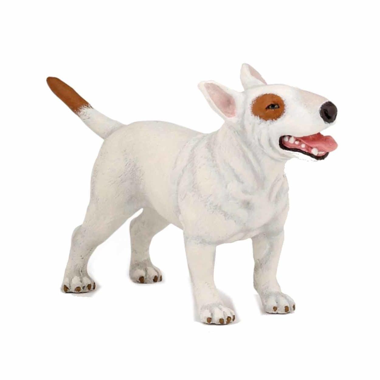 Plastic Papo dier Bull Terrier