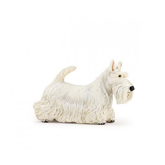 Plastic Papo dier witte Schotse terrier