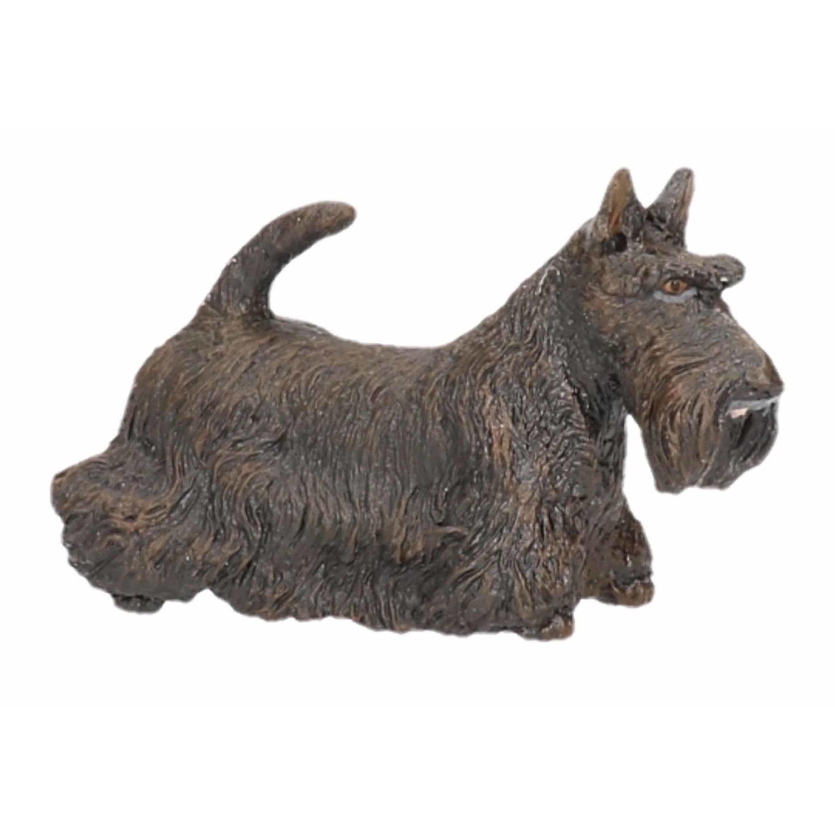 Plastic Papo dier zwarte Schotse terrier