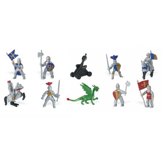 Plastic ridders en draken