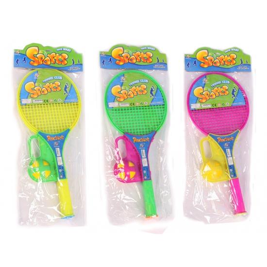 Plastic soft tennis set