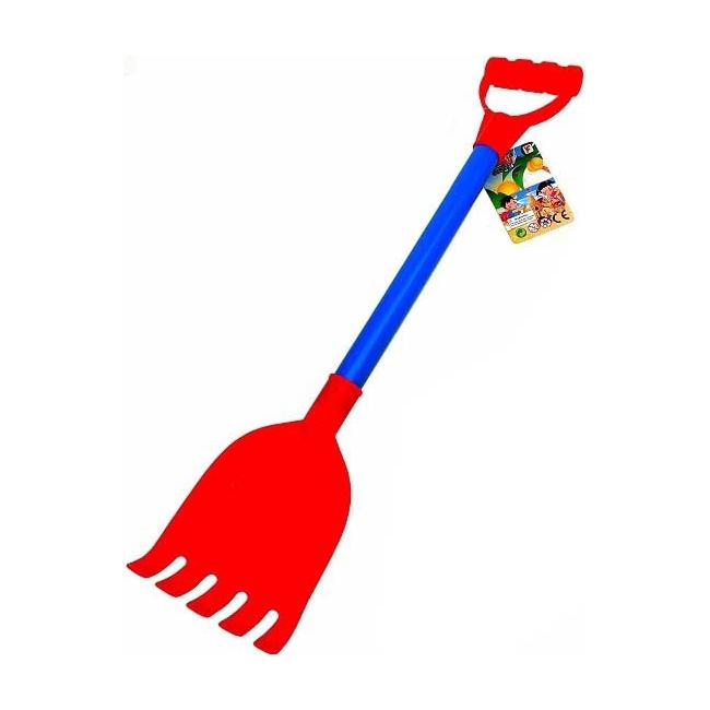 Plastic speel hark 55 cm