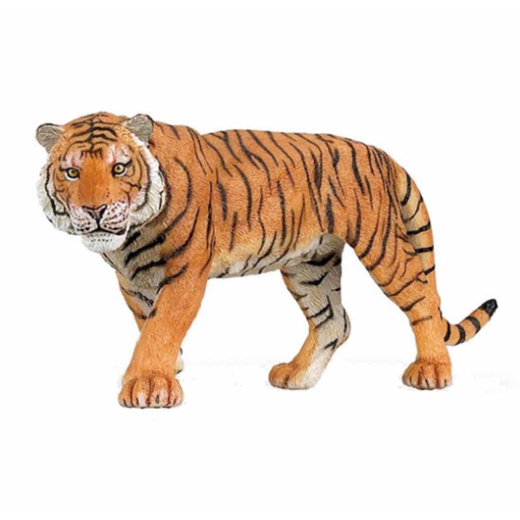 Plastic tijger 15 cm