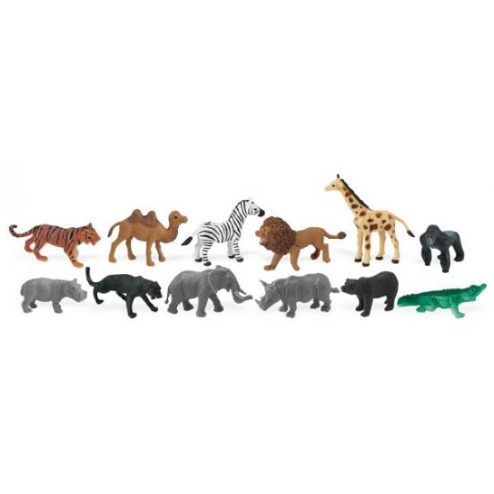 Plastic wilde dieren