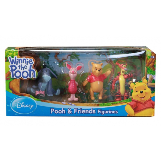 Plastic Winnie de Poeh figuurtjes