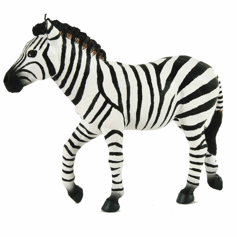 Plastic zebra 16 cm