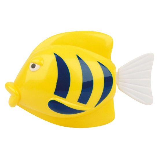 Plastic zwemmende vissen