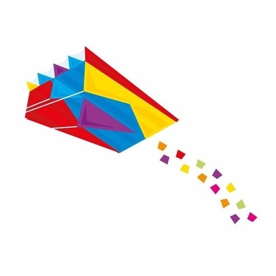 Pocket vlieger gekleurd