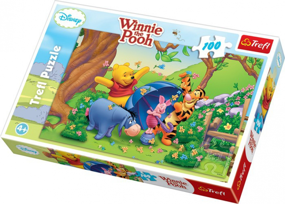 Poeh kinder puzzels 100 stukjes