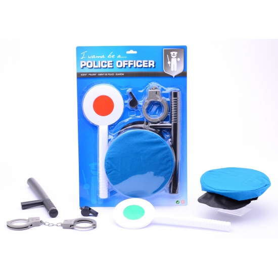Politie speelgoed set