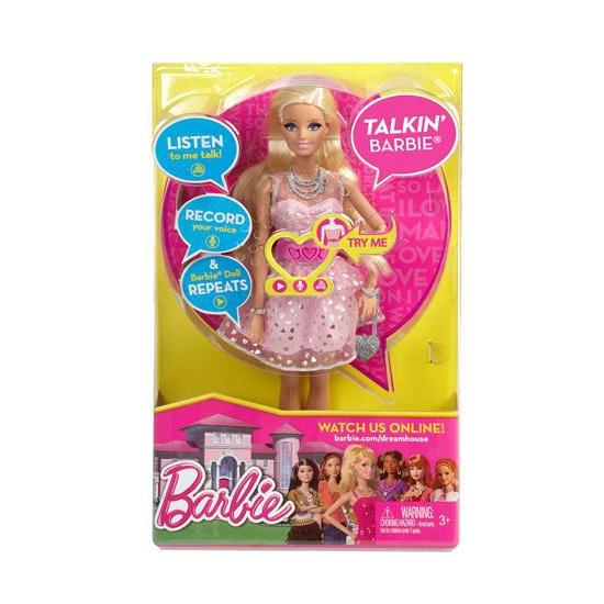 Pratende Barbie pop Dreamhouse