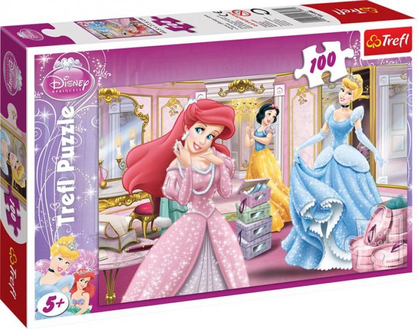 Prinsessen kinder puzzels 100 stukjes
