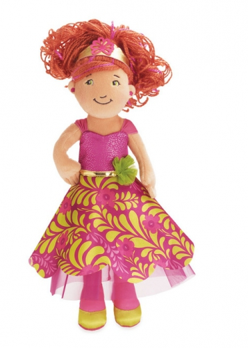 Prinsessen pop van pluche