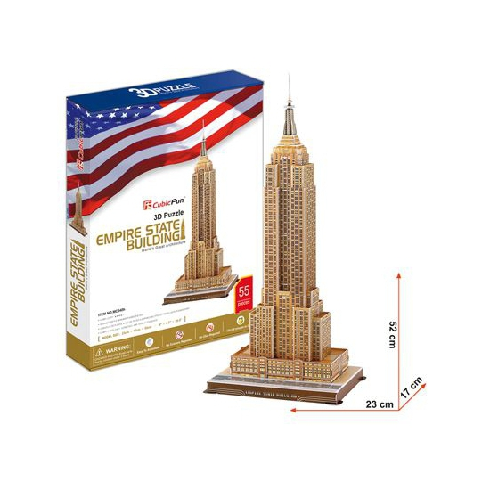 Puzzels Empire State Buidling 3d