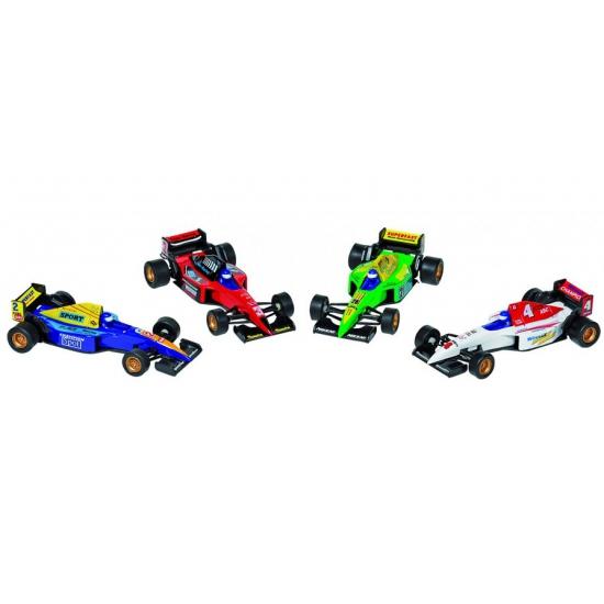 Race autootjes Formule 1