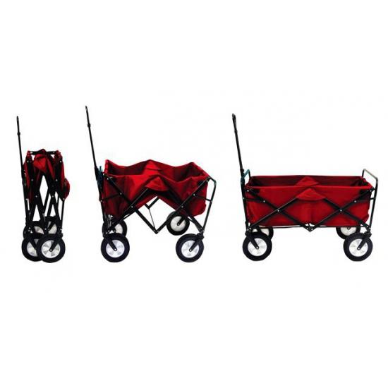 Rode bolderwagen inklapbaar