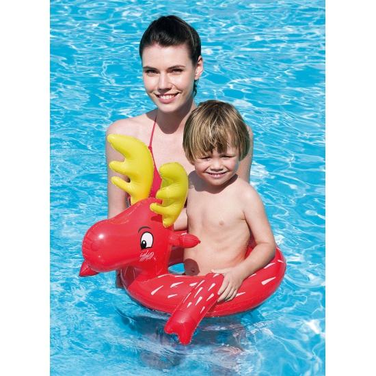 Rode eland zwemband 64 x 56 cm