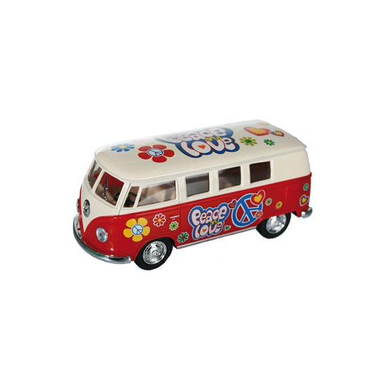 Rode VW model bus 12,5 cm